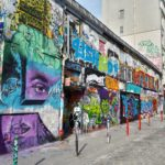 Rue Dénoyez – Paris graffiti street