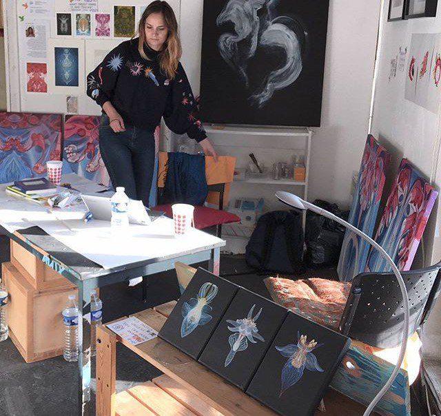 Kasia Klon, Polish artist in Paris