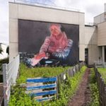 Street art in Chatou, the island of the impressionists: When street art helps to defend the fight against child labour and trafficking
